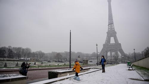 DIRECT. Alerte orange à la neige : de premiers flocons sur plusieurs régions, dont l'Ile-de-France