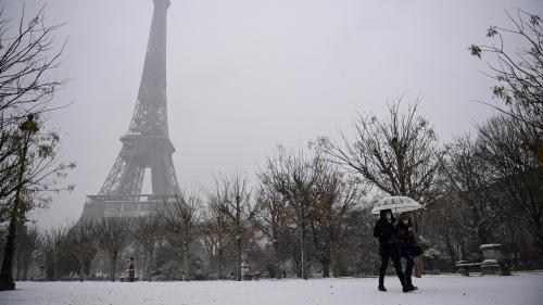 Trente départements désormais concernés par la vigilance orange à la neige et au verglas