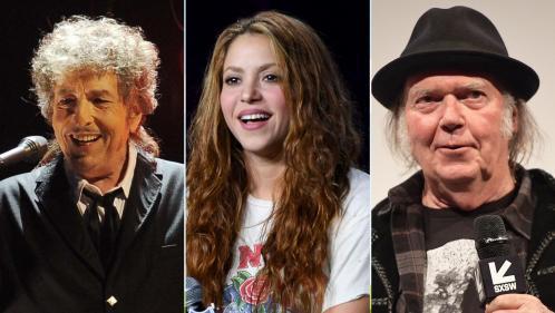 Bob Dylan, Shakira, Neil Young : mais pourquoi les stars cèdent-elles les droits de leurs catalogues musicaux à tour de bras ?
