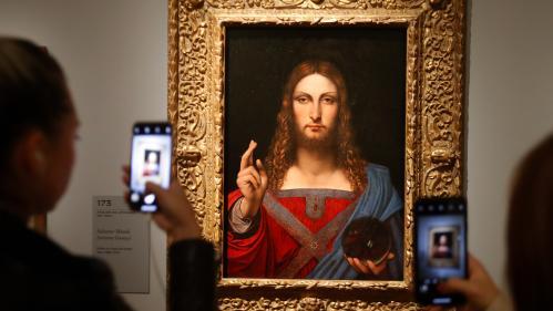 """Image de couverture - Un """"Salvator Mundi"""" de l'école de Léonard de Vinci retrouvé chez un Napolitain alors que personne n'avait signalé sa disparition"""