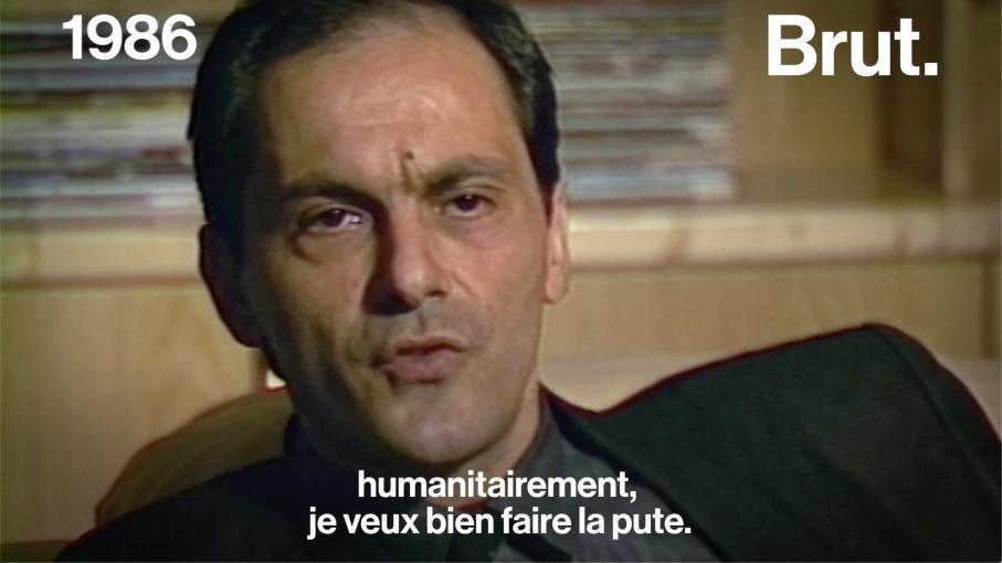 VIDEO. Jean-Pierre Bacri, c'était aussi un vrai franc-parler