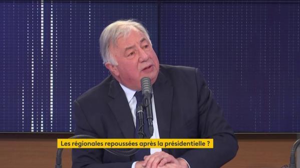 """VIDEO. Un report des élections régionalesen 2022 pose """"des problèmes constitutionnels majeurs"""", selon Gérard Larcher"""
