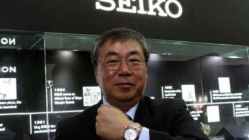 La marque Seiko célèbre ses 140 ans. Olivier de Lagarde reçoit la présidente de Seiko France, Isabelle Couturet.