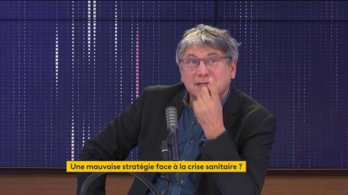 """VIDEO. Covid-19 : """"Les Français ne sont pas des sujets"""" d'Emmanuel Macron, ils ont """"un droit de critique"""", estime Éric Coquerel"""