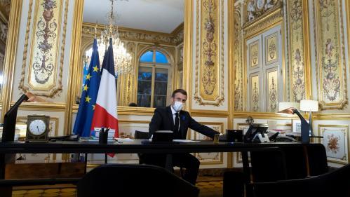 Emmanuel Macron va s'entretenir dimanche avec Joe Biden
