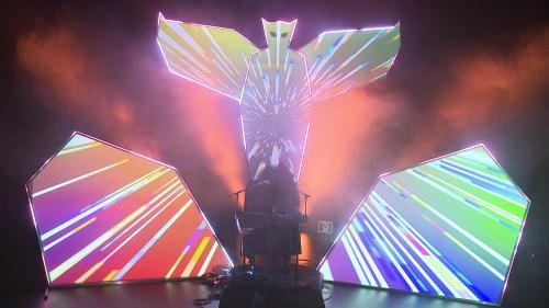 En Bretagne, le DJ Great Man Hiboo utilise la visio de manière innovante pour son nouveau projet scénique
