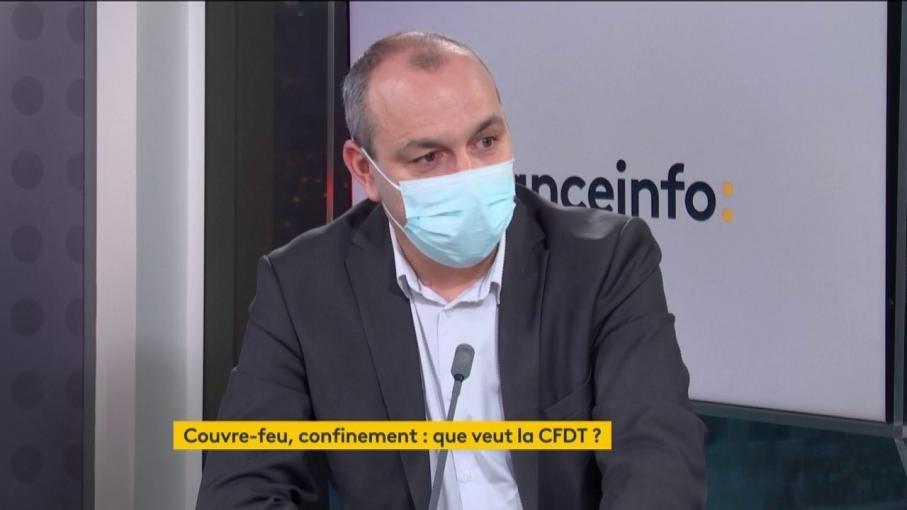 """Covid-19 : Laurent Berger réclame """"un accompagnement psychologique des citoyens"""""""