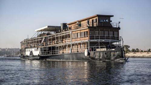 Image de couverture - Du navire Sudan à l'hôtel Old Cataract, un voyage en Egypte sur les pas d'Agatha Christie