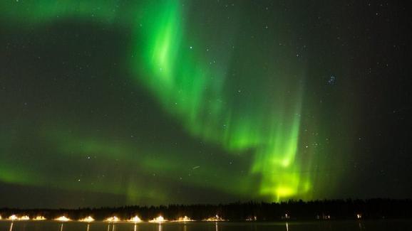 "An aurora borealis over Umeå, Sweden.  ""I work for laboratories, universities and hospitals. ""& nbsp;"