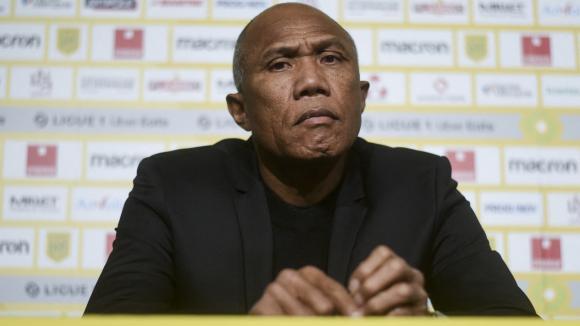 Antoine Kombouaré, le nouvel entraîneur du FC Nantes, jeudi 11 février 2021.