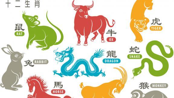 Μερικά σημάδια του κινεζικού ζωδιακού κύκλου, συμπεριλαμβανομένου του Ax, που γιορτάζεται φέτος.  & Nbsp;