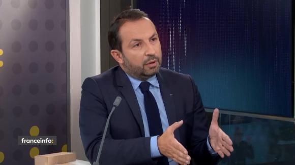 Sébastien Chenu, porte-parole du Rassemblement national et député du Nord.