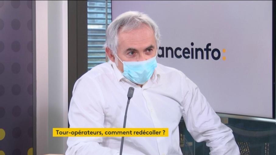 """Covid-19 : Jean-François Rial, PDG de Voyageurs du Monde, propose un """"certificat sanitaire électronique"""""""