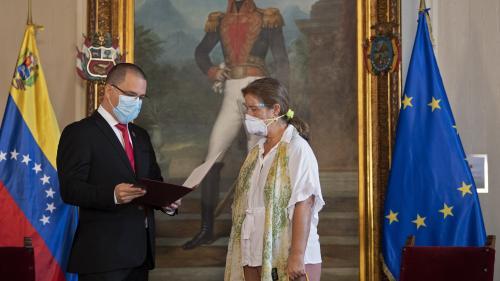 Le Venezuela expulse l'ambassadrice de l'Union européenne après de nouvelles sanctions de Bruxelles