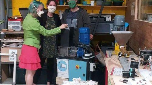 Rennes. Des masques en tissu usagés bientôt transformés en poufs