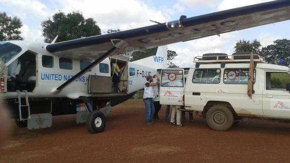Αποστολή στην πόλη Alindavo στην Κεντροαφρικανική Δημοκρατία.