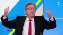 Image de couverture - VIDEO. Présidentielle 2022 : en cas de duel entre Macron et Le Pen, Mélenchon ne donnera pas de consigne de vote