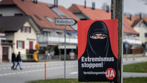 La Suisse vote pour l'interdiction de se couvrir le visage dans l'espace public
