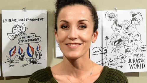 """Image de couverture - Coco deviendra la caricaturiste attitrée de """"Libération"""" après le départ en retraite de Willem"""