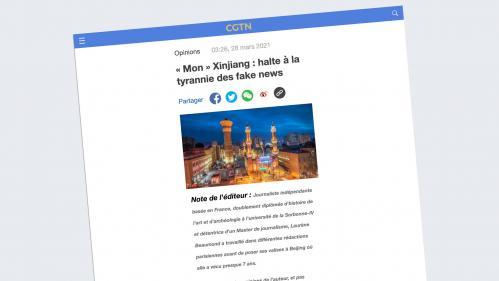 Quand la télévision d'État chinoise utilise une expatriée française pour diffuser sa propagande en France