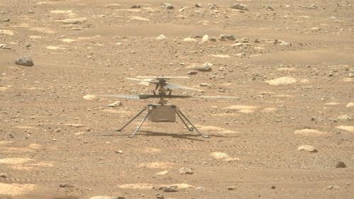 Mars: premier vol imminent pour le drone «Ingenuity»