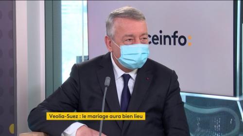 """Antoine Frérot, PDG de Veolia : """"Notre projet va emporter tous les salariés dans un même élan"""""""