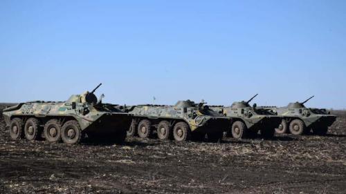 Ce que l'on sait des tensions à la frontière entre la Russie et l'Ukraine
