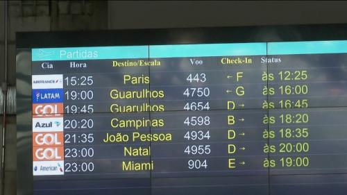 Covid-19 : les vols entre le Brésil et la France suspendus jusqu'à nouvel ordre
