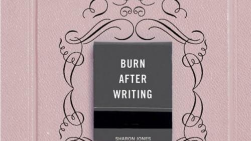 """Image de couverture - """"Burn After Writing"""", le livre numéro un des ventes où il n'y a pourtant rien à lire"""