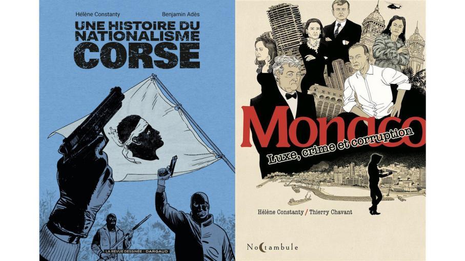 BD, bande dessinée. En Corse et à Monaco
