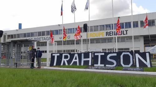 Morbihan : la Fonderie de Bretagne, mise en vente par Renault, bloquée pour le troisième jour consécutif