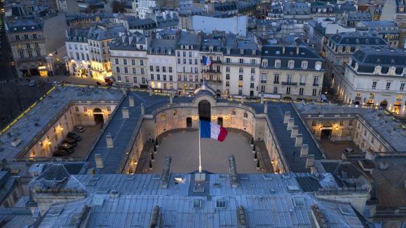 Le palais de l'Elysée, en mars 2019.