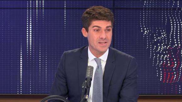 Aurélien Pradié, secrétaire général du parti Les Républicains.
