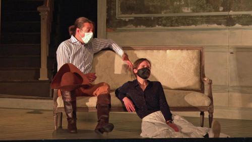 """À l'opéra de Montpellier, les artistes attendent avec impatience de présenter leur """"Werther"""" au public"""