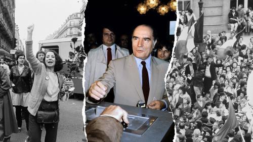 """TEMOIGNAGES. """"Quelle histoire !"""" : l'élection de François Mitterrand, le 10 mai 1981, racontée par Lionel Jospin, François Hollande, Jean-Pierre Elkabbach..."""