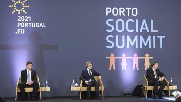 Europe : à Porto, un sommet européen à forte dimension sociale en pleine pandémie de Covid-19