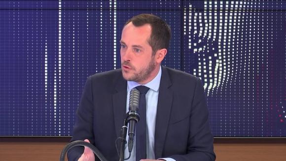 """Nicolas Bay,député européen Rassemblement national était l'invité du """"8h30 franceinfo"""", samedi 8 mai 2021."""