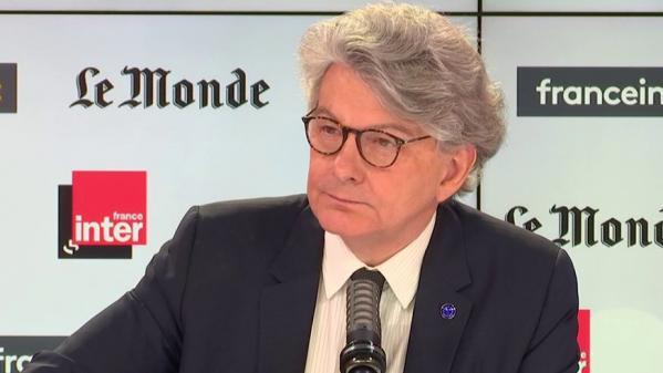 VIDEO. Covid-19 : «La sortie de crise sera progressive», prévoit Thierry Breton, le commissaire européen au Commerce intérieur