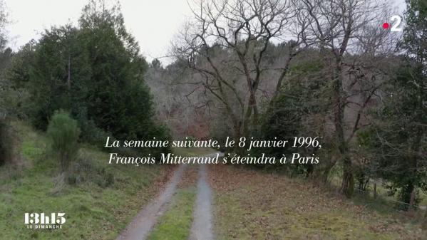 """L'ancien ministre de la Culture se rendait régulièrement, depuis 1978, dans la propriété des Landes de François Mitterrand. En cette fin d'année 1995, l'ex-chef de l'Etat vivait son dernier jour de l'An… Extrait du magazine """"13h15 le dimanche"""" du 9 mai 2021."""