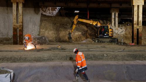 Grand Paris Express: un ouvrier gravement blessé sur le chantier de la future ligne16 du métro