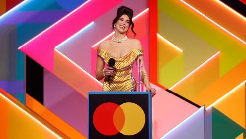 Brit Awards : Dua Lipa sacrée meilleure chanteuse, un palmarès très féminin