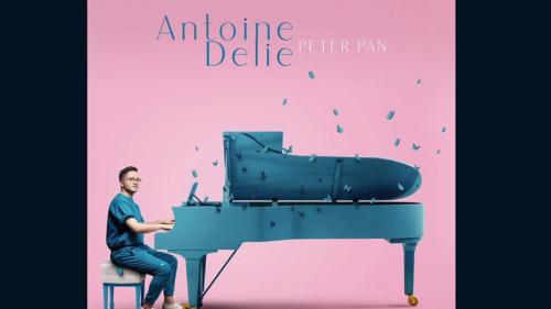 """Musique :""""Peter Pan"""", le premier album d'AntoineDelie,est dans lesbacs"""
