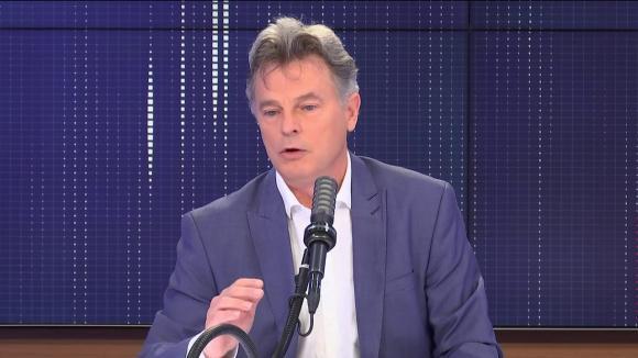 Fabien Roussel, député du Nord, secrétaire national du PCF et candidat à l'élection présidentielle, invité de franceinfo le 13 mai 2021.