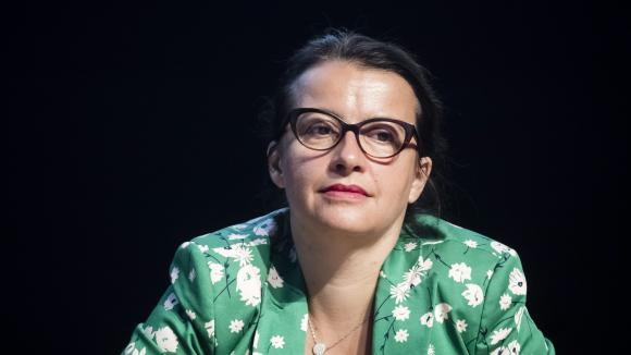 Cécile Duflot, lors desUniversités d'été de l'économie de demain (3 septembre 2019).