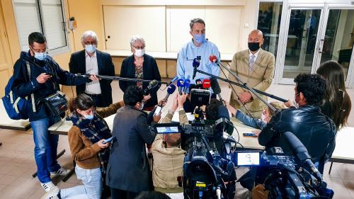 REPLAY. Double meurtre dans les Cévennes : retrouvez l'intégralité de la conférence de presse après la reddition du suspect