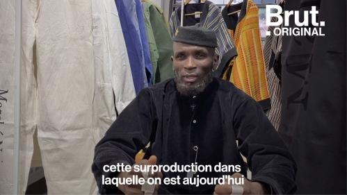VIDEO. Avec sa marque Marché Noir, Amah Ayivi chine et revisite les vêtements africains