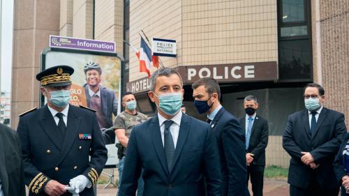Manifestation de policiers: cinq questions autour de la présence de Gérald Darmanin