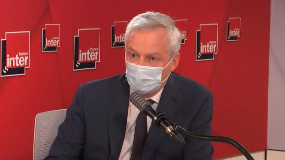 Bruno Le Maire, ministre de l'Economie, invité de France Inter, jeudi 27 mai 2021.