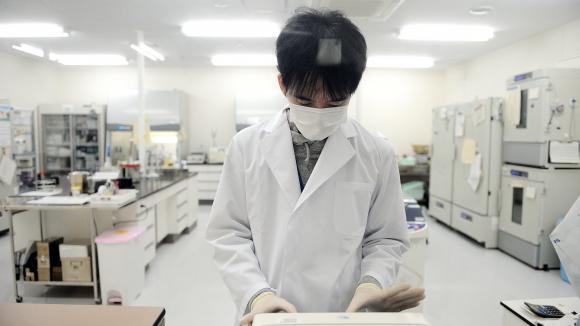 Un laboratoire de recherche surle Covid-19 à Tokyo (Japon). Photo d\'ilustration.