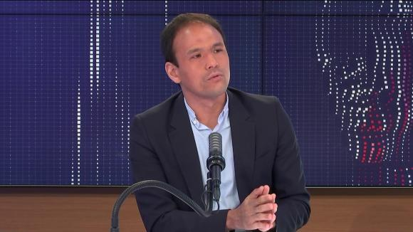 """Cédric O,secrétaire d'État chargé de la Transition numérique était l'invité du """"8h30 franceinfo"""", lundi 7 juin 2021."""